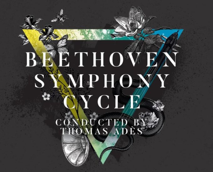 Beethoven Symphony Cycle artowrk