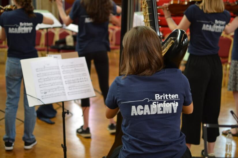 Britten Sinfonia Academy © Milly March